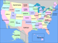 Map of the USA with state names in Gothic.png