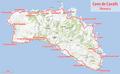 Mapa Menorca - Camí de Cavalls.png
