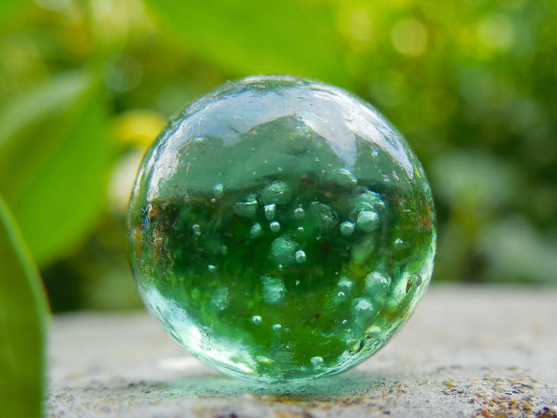 Green Marble Toy : File marble toy g wikimedia commons