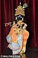 Marble Bankey Bihari Murti from Maliyas Jaipur INDIA.jpg