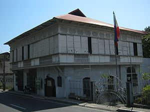Ancestral houses of the Philippines - Marcella Agoncillo Ancestral House, typical Bahay na Bato