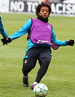 c033b46eea5 Marcelo training with Real Madrid in 2011