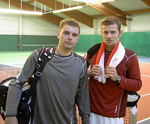 Pekao Szczecin Open - Polish team of Marcin Matkowski and Mariusz Fyrstenberg won the doubles thrice, in 2001, 2003 and 2005