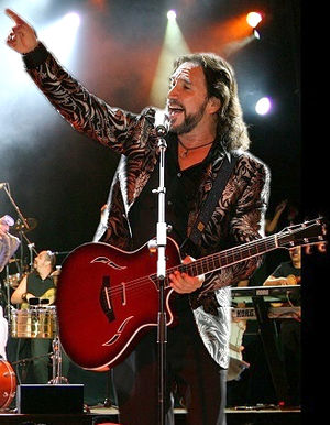 "Joyas Prestadas - Two songs composed by Mexican singer-songwriter Marco Antonio Solís (pictured), ""¡Basta Ya!"" and ""Como Tu Mujer"", are covered by Jenni Rivera for Joyas Prestadas. Solis appears on both tracks as a guest artist."