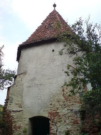 Mihăileni, Sibiu - Image: Mardisch Turm