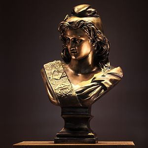 Grand Orient de France - Masonic Marianne, by Paul Lecreux (aka Jacques France). This bust inspired Republican variations of Marianne used during the Third Republic.