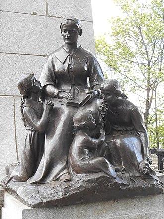 Louis Hébert - Marie Rollet and her children