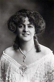 Marie Studholme British actress