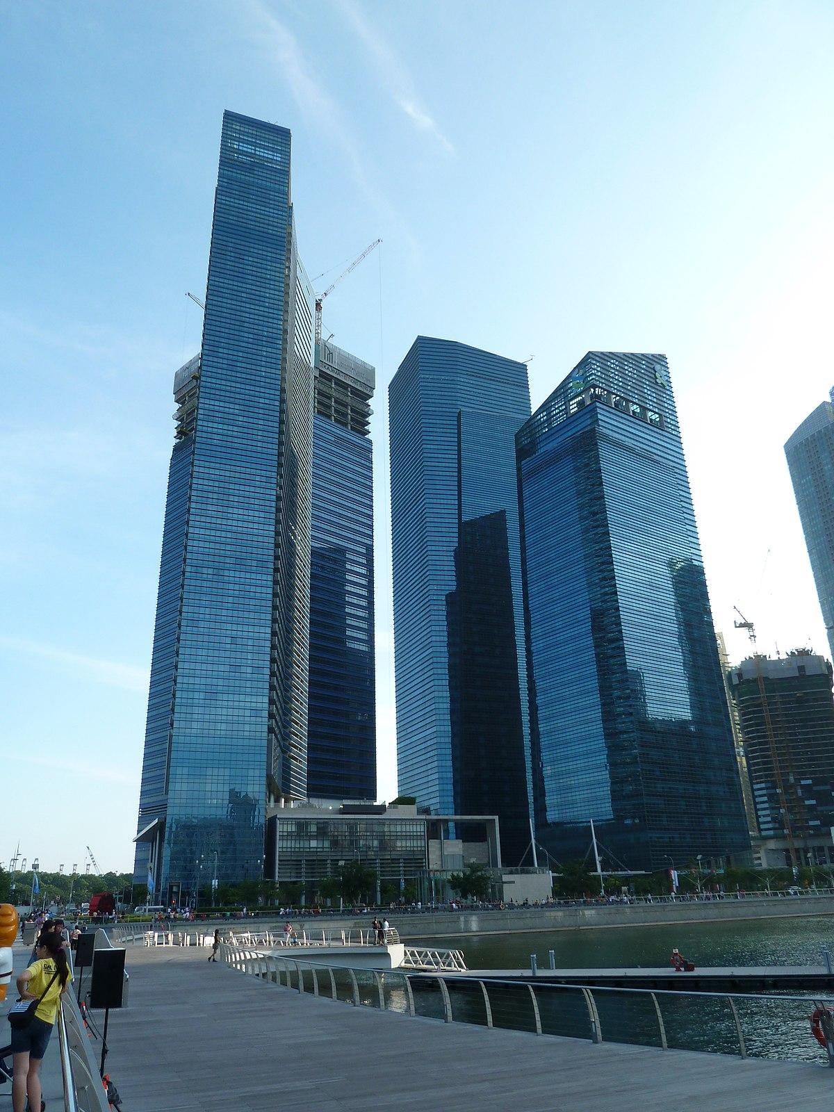 Marina bay financial centre wikipedia la enciclopedia libre - Abreviatura de arquitecto ...