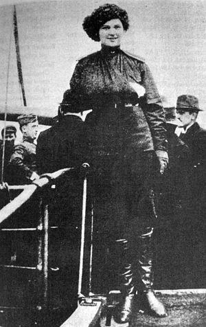 Marina Yurlova - Marina Yurlova during World War I