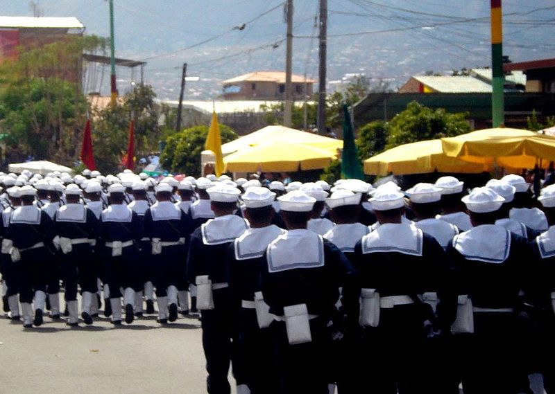 File:Marines de Bolivia desfilando.jpg