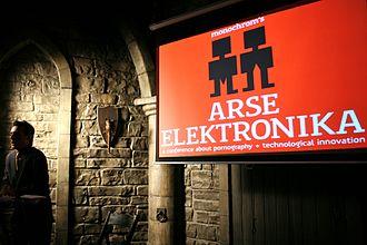 Mark Dery - Mark Dery talking at monochrom's Arse Elektronika 2007
