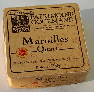 Maroilles cheese - Maroilles cheese from France
