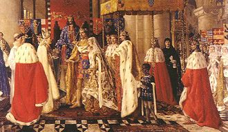 Blanche of Lancaster - Image: Marriage of Blanche of Lancaster and John of Gaunt 1359