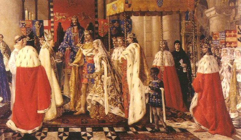 Fichier:Marriage of Blanche of Lancaster and John of Gaunt 1359.jpg