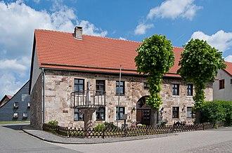 Obermarsberg - Old Town Hall and Pranger