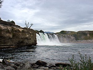 Tasman District - The Maruia Falls