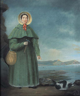 Mary Anning by B. J. Donne