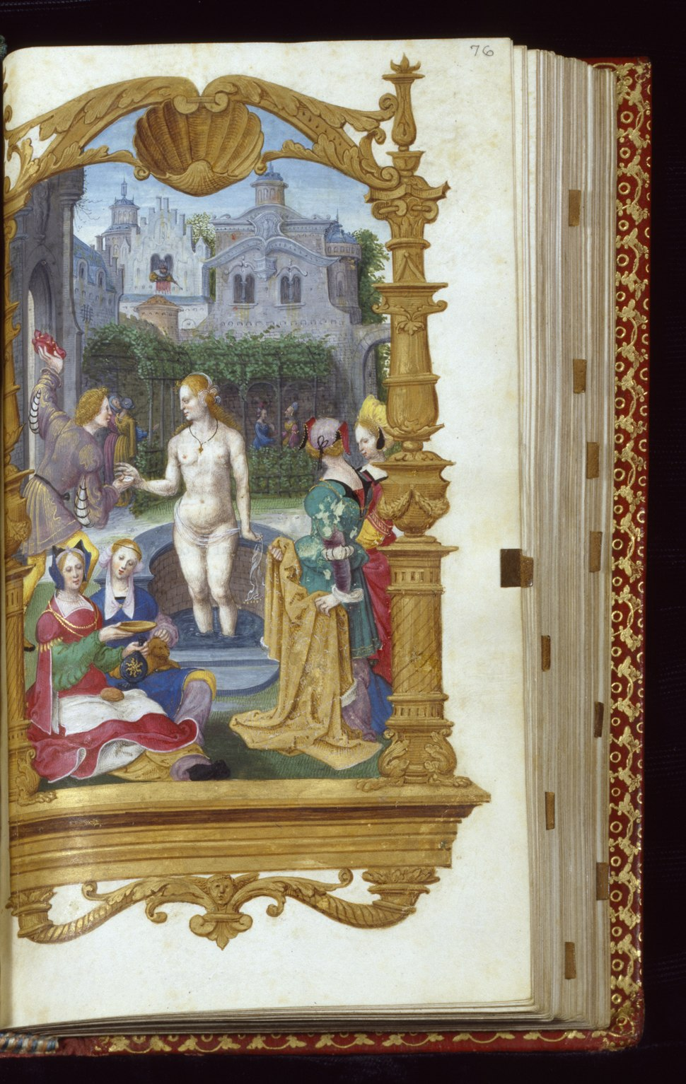 Master Jean de Mauléon - Leaf from Book of Hours - Walters W44976R - Open Obverse
