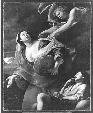 An Angel shows Hagar the Way