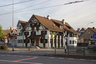 Matzingen - Gasthof Ochsen in Matzingen village