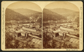 Mauch Chunk, Pa., from South Mountain road, by Walker, L. E., 1826-1916.png