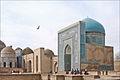 Mausolées du groupe central (Shah-i-Zinda, Samarcande) (6017027034).jpg