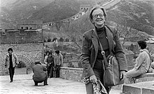 Mavis great wall of china april 1981.jpg