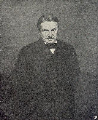 Hermann Wallich - Konsul Wallich, painted by Max Koner, 1898