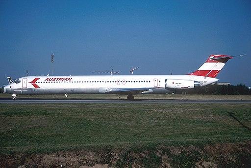 McDonnell Douglas MD-81 (DC-9-81), Austrian Airlines AN1009413
