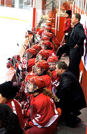 McGill Martlets ice hockey - Martlets'Head Coach Peter Smith