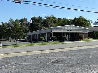 McRae, Georgia - McRae-Helena City Hall