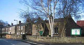 Meanwood Suburb of Leeds in West Yorkshire, England