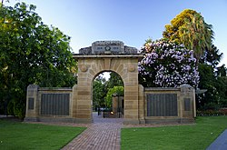 Memorial Archway at the Wagga Wagga VMG.jpg