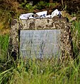 Memorial to Chinese and Japanese who died in the whaling trade at Rose Harbour, Haida Gwaii.jpg