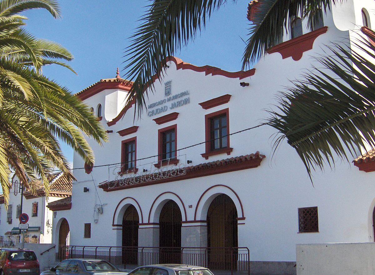 Mercado de ciudad jard n wikipedia la enciclopedia libre for Distrito ciudad jardin malaga