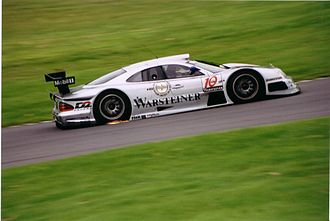 Mercedes-Benz CLR - A CLK GTR competing in the FIA GT Championship