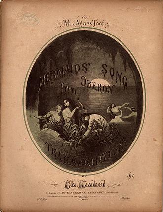 Oberon (Weber) - Image: Mermaid's Song