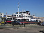 Mersey Ferry Snowdrop at East Float Dock, Birkenhead.JPG