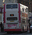 Metro (Belfast) bus 2883 (EEZ 2883) 2005 Volvo B7TL Alexander Dennis ALX400, 14 January 2011.jpg
