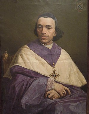 Claude-Henri Plantier - Mgr Claude-Henri PLANTIER by Melchior Doze about 1855