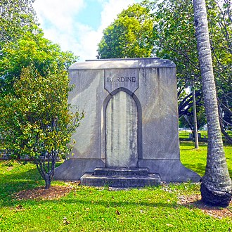 Burdines - Burdine family mausoleum in the Miami City Cemetery