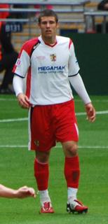 Michael Bostwick English footballer