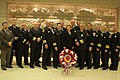 Michigan firefighters met with Senator Stabenow and later placed a commemorative wreath at the Tomb of the Unknown Solder at Arlington National Cemetery. (17141725566).jpg