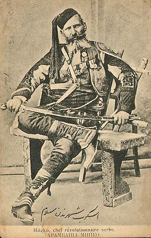 Serbs of the Republic of Macedonia - Micko Krstić participated in Serbian–Ottoman War and Kumanovo Uprising