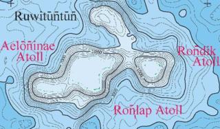Ruwitūn̄tūn̄ A guyot in the Marshall Islands in the Pacific Ocean