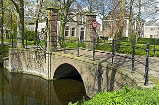 Middenbeemster Town in North Holland, Netherlands
