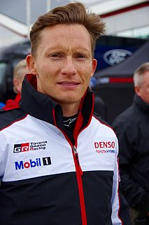 Mike Conway British professional racing driver