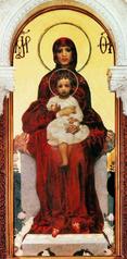Vierge à l'Enfant (Vroubel)