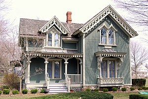 Northville, Michigan - Mill Race Historical Village - Yerkes House